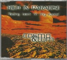 COSMO & TOM / RICH IN PARADISE (GOING BACK TO MY ROOTS)  * NEW MAXI CD * NEU *