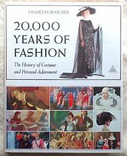 20,000 YEARS of FASHION by Francois Boucher 1st Ed. 1966 w/1150 Illustrations