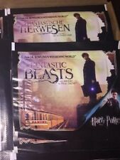Panini Fantastic Beast and where to Find Them 50 Sealed Packets And Album