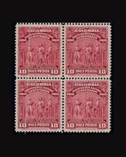 Vintage: Colombia 1910 Og Nh Scott#338 $ 1300 Lot # 1910Cxo 00004000