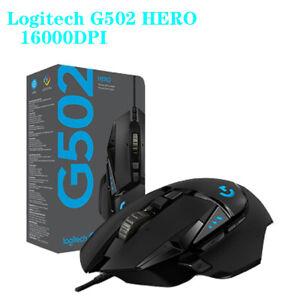Logitech Original G502 HERO Master Game Mouse Wired Upgrade Hero Engine 16000DPI