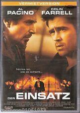 DVD Movie Film 2004  Action Thriller  Der Einsatz  mit Al Pacino + Colin Farrell