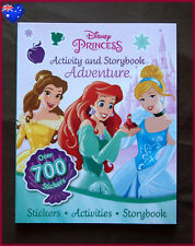 DISNEY PRINCESS Activity & Storybook Adventure Book Colouring Story 700 STICKERS