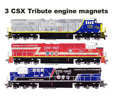 CSX Veterans, First Responders & Law Enforcement ES44AH magnets Andy Fletcher