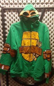 Boys Teenage Mutant Ninja Turtles Michelangelo Hooded Sweatshirt Size XL
