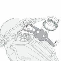 KAPPA BF21K FLANGIA PER BORSE TANKLOCK YAMAHA 700 MT07 / MT07 ABS 2014-2017