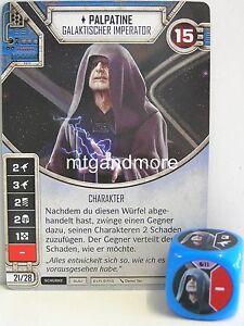 Star Wars Destiny - Geist der Rebellion - Einzelkarte + Würfel aussuchen