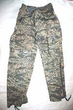 GENUINE USAF APECS ABU GORE TEX TIGER STRIPE ALL PURPOSE PANTS - SMALL REGULAR