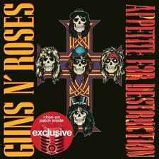 Appetite For Destruction by Guns N' Roses Target Exclusive (2 CD's, Patch) NEW