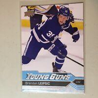 F50023 2016-17 Upper Deck Young Guns RC Brendan Leipsic Maple Leafs
