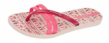 Sandali e scarpe rosse Piatto (Meno di 1,3 cm) in gomma per il mare da donna