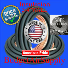 "3/4 x 3/8 X(3/4""WALL INSULATED) x 25FT Copper Line Set/LINESET MADE USA-3/4""WALL"