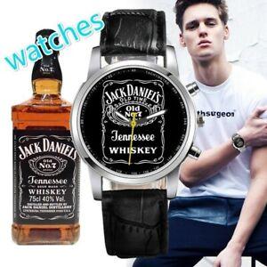 Jack Daniels Watch. Genuine Leather Band. In Blue. Quartz Watch. Brand New!!!!!
