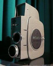 Filmkamera Agfa  Movex Automatic + Lederetui Vintage Retro ca. 50er Jahre