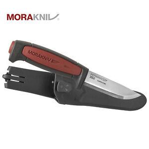 Morakniv Pro C Red Rot Jagt / Arbeitsmesser Carbonstahl Steel Mora Messer
