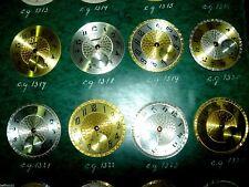 Lot 8 cadrans montre gousset ancienne  dial pocket watch Zifferblatt ART DECO 12