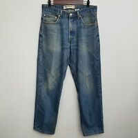 Levis 550 Relaxed Fit Jeans 32x30 Medium Wash 100% Cotton Work Denim