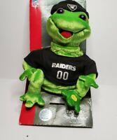 Gemmy Frogz Rock It Rap It Hip Hop NFL Oakland Las Vegas Raiders Sing In Da Club