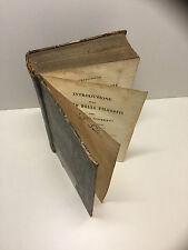 1845-V.Gioberti:INTRODUZIONE ALLO STUDIO DELLA FILOSOFIA-Tipografia Elvetica