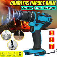 For 18V Makita Battery3 in 1 Cordless Electric Impact Wrench Drill Screwdriver