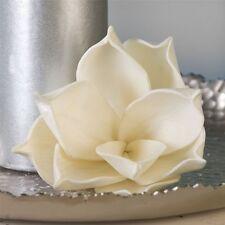 Arte flor foam Flower Smart blanco/Metallic 20 cm de longitud 50 cm