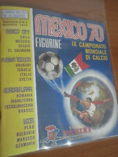 Album figurine Panini Calciatori MEXICO 70 + Bustina  Anastatica Reproduction