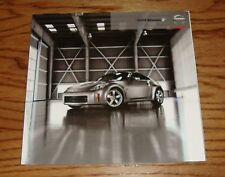 Original 2008 Nissan Z Deluxe Sales Brochure 08
