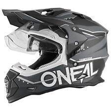 O'Neal Sierra II Helm Slingshot Schwarz Motorrad MX Moto Cross Offroad Visier