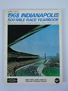 1968 Indianapolis 500 Floyd Clymer's Yearbook History Bobby Unser Tape on spline