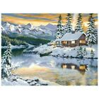 Diamond Painting 5D Winter DIY Full Drill Embroidery Kit Cross Stitch Home Craft