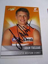 Adam Treloar (GWS) signed 2012 Select Australia Common Card + COA