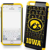FOCO NCAA Dual Hybrid 2-Piece Ai6+ Cover Iowa Hawkeyes Logo NEW
