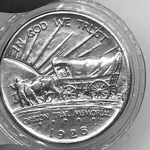 USA 1/2$ 1926 Oregon Trail Memorial KM#159 Silver aXF+