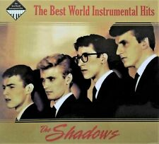 """THE SHADOWS  """" THE BEST WORLD INSTRUMENTAL HITS """"  BRAND NEW  2CD"""