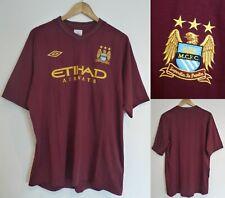 2012-2013 Manchester City FC Short Sleeve Umbro Away Football Shirt Extra Large