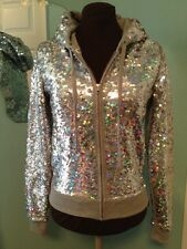 NWT Victoria's Secret Limited Edition Fashion Show Sequin Hoodie Jacket S