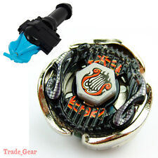 BB116B SCREW LYRA BEYBLADE Masters Fusion Metal Fight+GRIP+BLUE SPIN LAUNCHER
