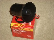 Universal Police Emergency Warning Musical Claxon Horn Siren for Car Van Bus 12V