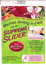 Supreme Slider - teflon sheet for machine quilting