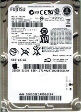 FUJITSU MHX2250BT 250GB APPLE P/N CA06846 DATE: 2007-05