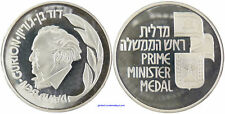 ISRAEL DAVID BEN-GOURION  PREMIER MINISTRE  ARGENT  FDC