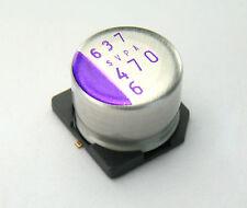 10pcs 470uF 6.3v SANYO Oscon Conductive Polymer Radial Capacitor Low ESR