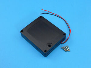 Waterproof 4x AA 6V Battery Box / Case / Holder with Cover and Switch