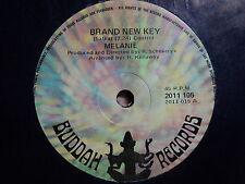 "Melanie ""Brand New Key"" Excellent BUDDAH Oz 7"""