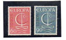 Noruega Europa CEPT serie del año 1966 (AX-492)