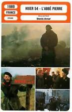 FICHE CINEMA : HIVER 54  L'ABBE PIERRE - Wilson,Cardinale 1989 Winter of '54