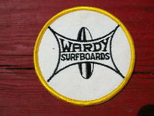 vintage 1960s wardy surfboards jacket patch primo surf