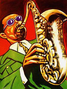 SONNY STITT PRINT poster jazz saxophone blues tune up cd boss tenors plays bird