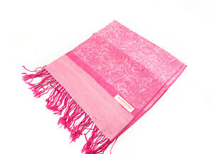 Scarf Shawl Tagelmust Scarf 70 7/8x28 5/16in Nepal Cotton-Viscose Pink 9179