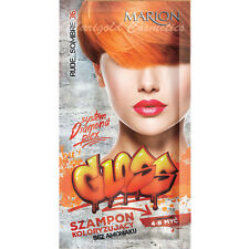 Marion Gloss Hair Colour Shampoo Dye Sachet 4 to 8 Washes Wash Out 40ml + GLOVES